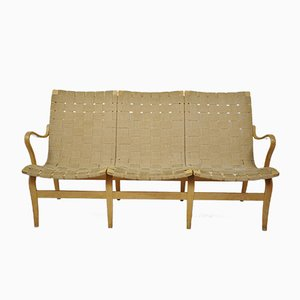 Vintage Swedish Eva Sofa by Bruno Mathsson for Karl Mathsson, 1964