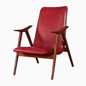 Vintage Armlehnstuhl von Louis van Teeffelen
