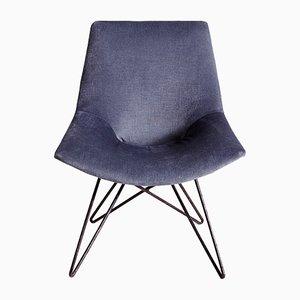 Flexible Backrest Chair, 1960s