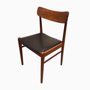 Chaise de Salon Vintage en Teck de Glyngore Stolefabrik, Danemark, 1960s