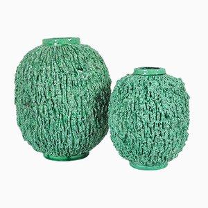 Vases en Céramique par Gunnar Nylund pour Rörstrand, 1960s, Set de 2