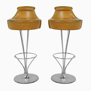 Vintage Danish Stools by Piet Hein for Fritz Hansen, 1970s
