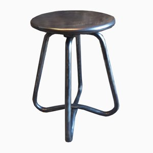 Cast Aluminum Workshop Stool, 1970s