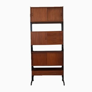Teak Modular Wall Unit from SimplaLux, 1960s