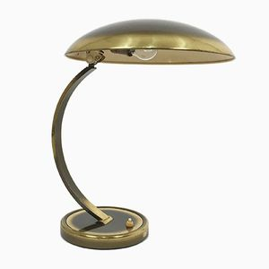 6751 Brass Desk Lamp by Christian Dell for Kaiser Leuchten, 1950s