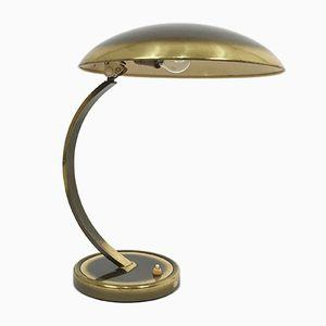 6751 Messing Schreibtischlampe von Christian Dell für Kaiser Leuchten, 1950er