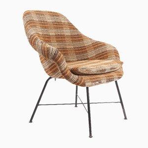 Mid-Century Fiberglass Lounge Chair, 1960s