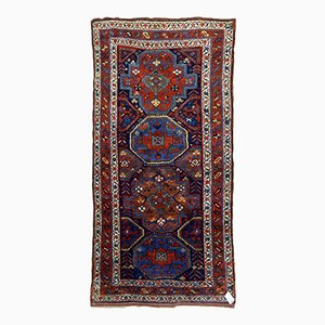 Antique Handmade Persian Kurdish Rug, 1880s