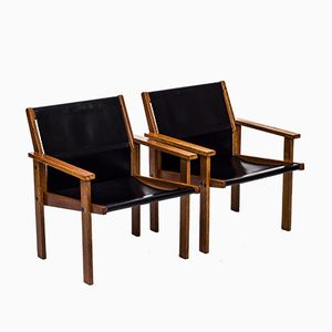 Easy Chairs by Hans Agne Jakobsson, 1976, Set of 2