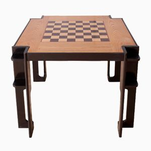 Vintage Italian Square Game Table