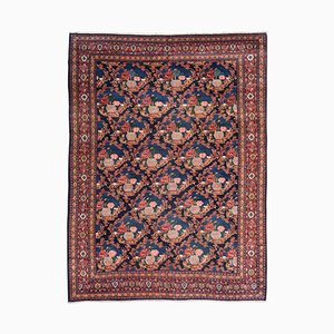 19th Century Antique Persian Senneh Rug with Roses
