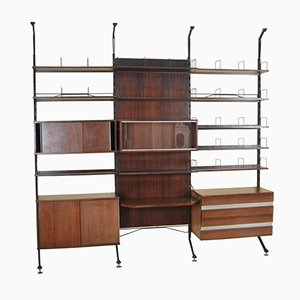Rosewood Urio Bookcase by Ico & Luisa Parisi for MIM, 1960s