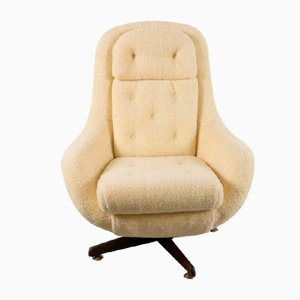 Chaise Oeuf Mid-Century Inclinable