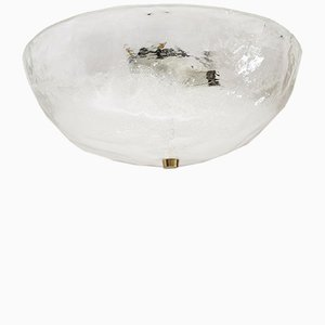 Viennese Glass Flush Ceiling Mount from J. T. Kalmar, 1970s