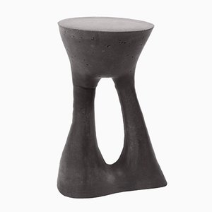 Tall Charcoal Kreten Side Table by Isaac Friedman-Heiman for Souda