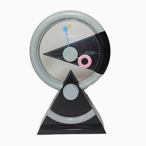 Japanese 4RP696 Rhythm Table Clock, 1990s