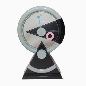 Reloj de mesa Rhythm 4RP696 japonés, años 90