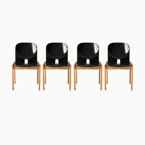 Modell 121 Stühle von Tobia & Afra Scarpa für Artemide, 1968, 4er Set