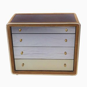 German Dresser with Mirrored Drawers, 1970s