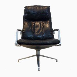 FK86 Swivel Chair by Preben Fabricius & Jørgen Kastholm for Kill International, 1960s
