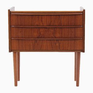 Danish Teak Sidebord, 1960s