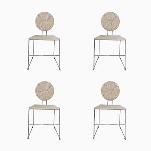 Side Chairs by Kazuhide Takahama, 1960s, Set of 4