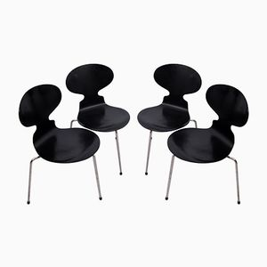 3100 Ant Chairs by Arne Jacobsen for Fritz Hansen, 1950s, Set of 4