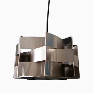 Vintage French Ceiling Lamp by Max Sauze, 1970s