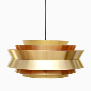 Swedish Trava Lamp by Carl Thore for Granhaga Metallindustri, 1963