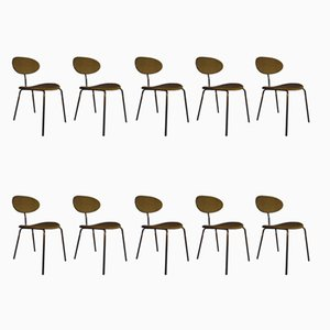 Dining Chairs by Hans Bellmann for Domus, 1960s, Set of 10