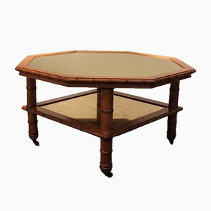 19th Century Napoleon III Octagonal Coffee Table
