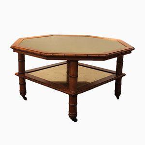 Table Basse Napoleon III Octagonale, XIXe siècle
