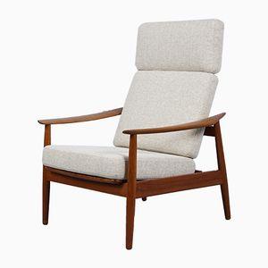 Mid-Century FD-164 Lounge Chair by Arne Vodder for France & Sohn