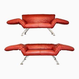 Sofá o chaise longe suizo vintage DS 142 de Winfried Totzek para de Sede