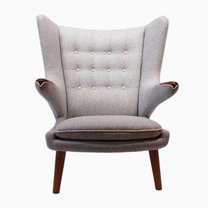 Modell AP19 Papa Bear Chair von Hans J. Wegner für A.P. Stolen, 1962