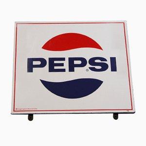 Vintage Pepsi Werbeschild von Wiener E Mail Hölzl