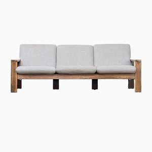 Wengé 3-Seater Sofa, 1970s