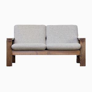 Wengé 2-Sitzer Sofa, 1970er