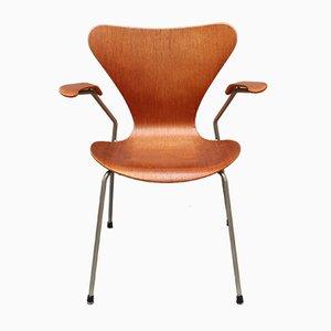Series 7 Stuhl aus Palisander von Arne Jacobsen für Fritz Hansen, 1960er