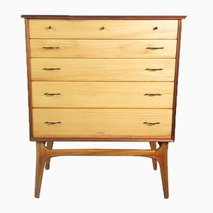 Mid-Century Chest of Drawers by Alfred Cox for AC Furniture