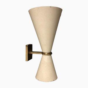 Italienische Mid-Century Wandlampe von Gino Sarfatti für Arteluce