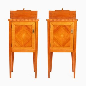 Vintage Bedside Tables, Set of 2