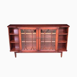 Art Deco Mahogany Display Cabinet