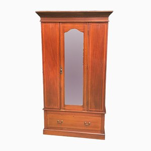 Art Deco Mahogany Wardobe