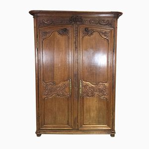 18th Century French Oak Wedding Wardrobe