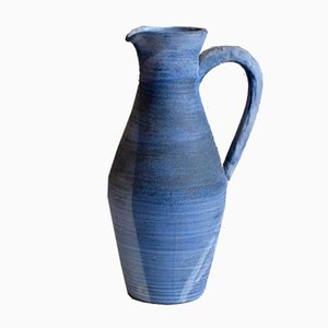 Vintage Ceramic Vase or Pitcher by K. Bail