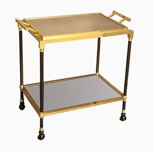 Vintage Italian Bar Cart With Removable Tray, 1960s