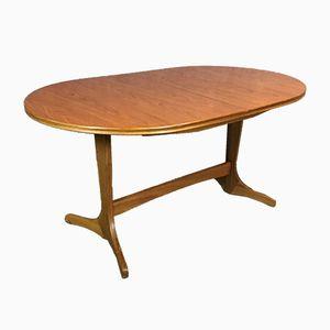 Blond Oak Table, 1970s