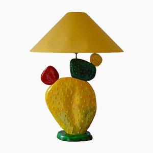Französische Vintage Cactus Tischlampe von François Chatain, 1970er