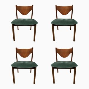Brazilia Dining Chairs by Victor Wilkins for G-Plan, 1960s, Set of 4